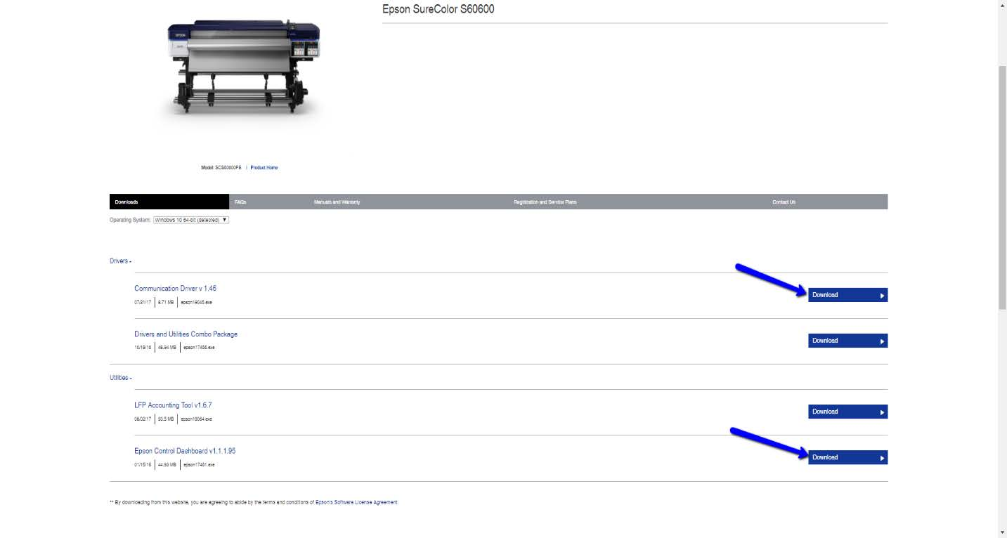 Setting up Flexi to print with the Epson SC-S X0600 series