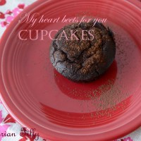 My heart beets for you cupcakes