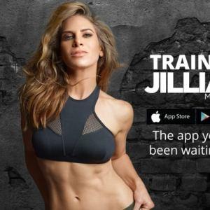 jillian michaels shows off the resutls from her latest training program