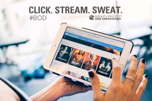 beach body on demand on the ipad