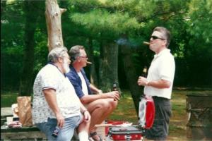 Mark Cisternino FTA Hall of Fame picnic