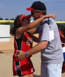 Mark Cisternino FTA Hall of Fame Emily softball