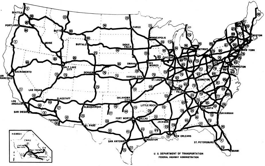 FlexPost Inc.| Eisenhower's Federal-Aid Highway Act of 1956