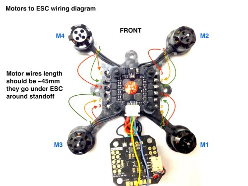 small resolution of motors to esc connection diagram