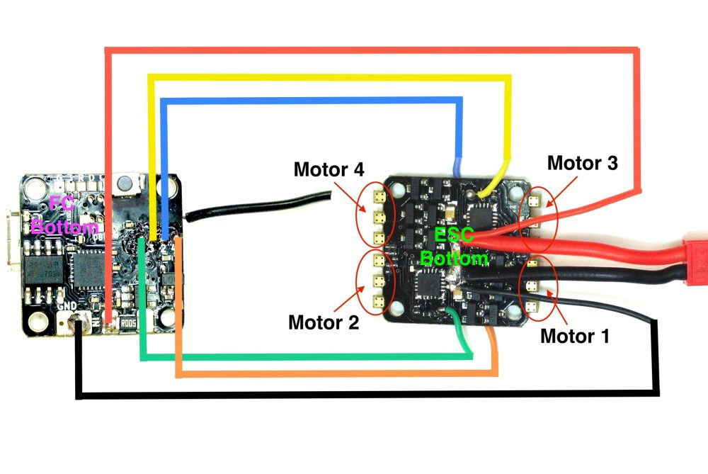 medium resolution of tinyfish fc and tinypepper 1s 4a esc wiring diagram flex rc rc esc wiring diagram rc esc wiring diagram