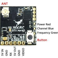 Fpv Transmitter Wiring Diagram Simple Stereo Amplifier Circuit Hglrc 5 8g Gtx Nano Vtx Video Flex Rc
