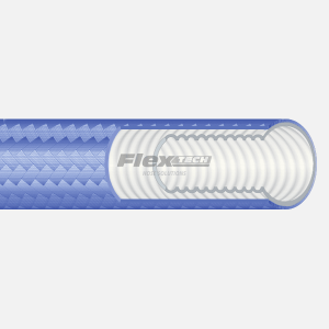 T6425 | Polypropylene covered Convoluted PTFE Hose