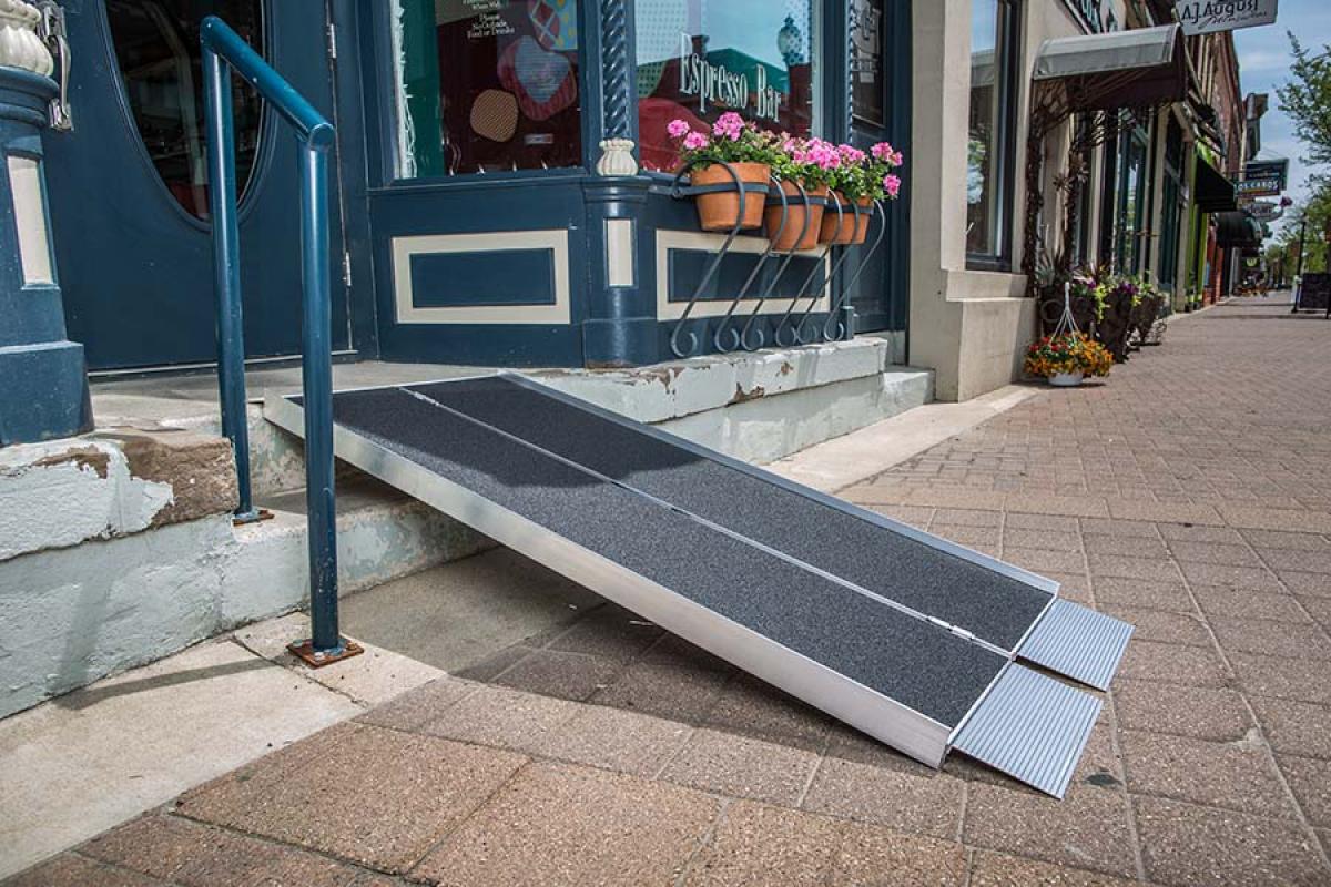 portable wheel chair ramp bean bag lounge chairs 6 39 wheelchair flexx productions