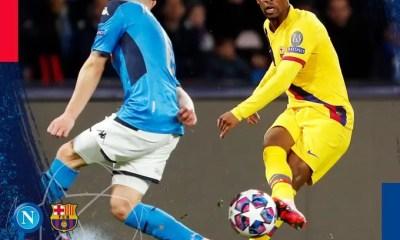 Video Napoli vs Barcelona 1-1 Highlights Download