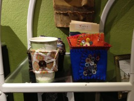 Up-cycled Coffee and Tea Koozies