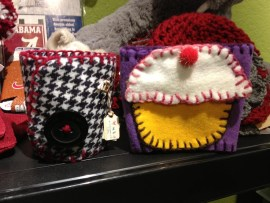 Alabama Houndstooth and Cupcake Coffee and Tea Koozies
