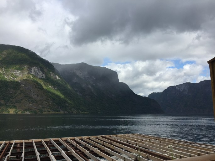 breakfast on the fjord