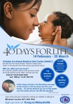 40 Days for Life 2018 without Mass Auckland