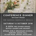 Living the Splendour of Truth Conference Dinner