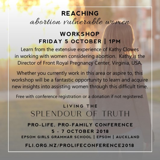 Reaching Abortion Vulnerable Women Workshop