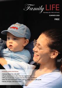 Family Life December 2020 magazine cover