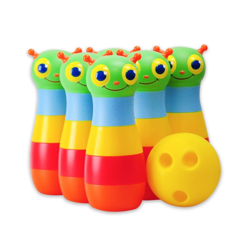 Brinquedo Boliche Feliz Happy Giddy Bowling Set