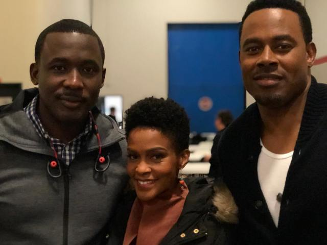 Joseph Benjamin and Greenleaf co-stars