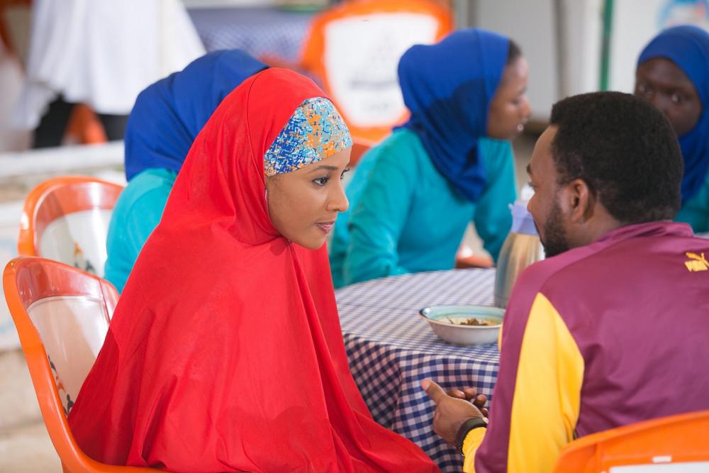 Adesua Etomi and Ibrahim Suleiman in Up North