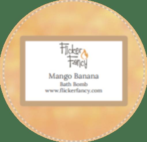 Mango Banana Single Bath Bomb