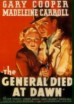General Died at Dawn Poster
