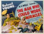 man who could work miracles poster