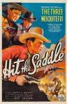 Hit the Saddle Poster