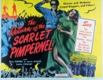 return of the scarlet pimpernel poster