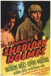 adventures of sherlock holmes poster