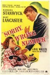 sorry wrong number poster
