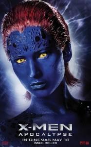 X-Men Mystique Character Banner