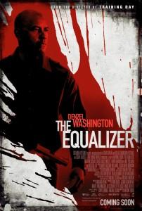 Denzel Washington in The Equalizer poster