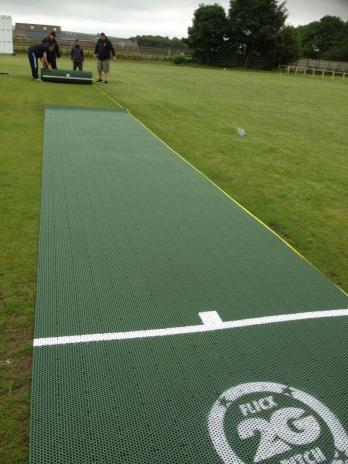 The 2G Flicx Pitch is rolled out