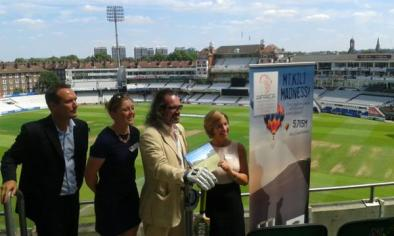 Yesterdays launch at the Kia Oval