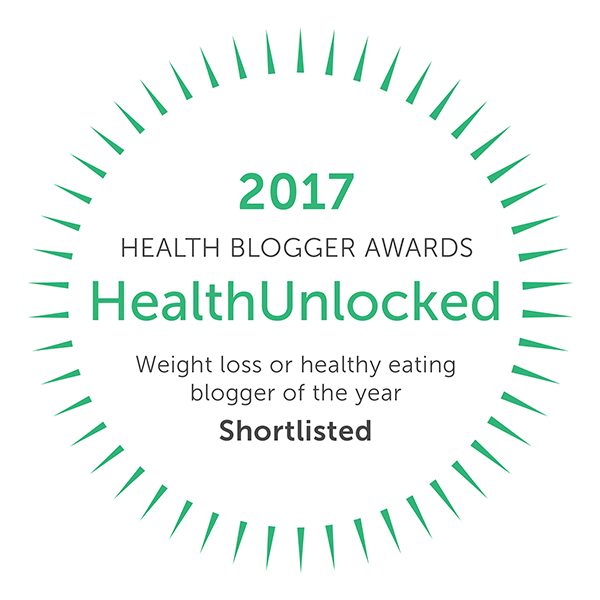 Weight Loss of Healthy Eating Blogger of the Year - nominated