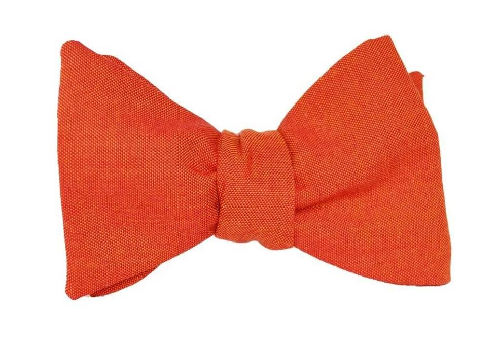 Fliege Edelmann orange