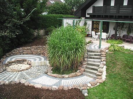 Feuerstelle Garten Rund : Feuerstelle im garten attraktiv rund pflanzen frisch beeindruckend