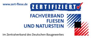Zertifizierter Fachbetriebdes Fliesenhandwerks