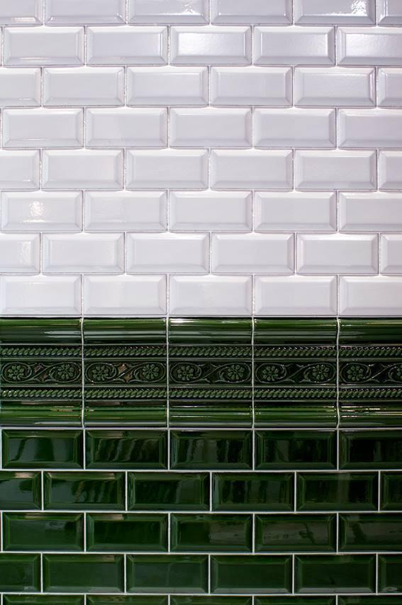 Wandfliese Cevisa Metro Bianco Craquele 75x15 cm gnstig