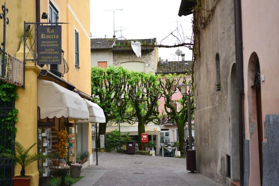 Quiet Street Sirmione Lake Garda Italy