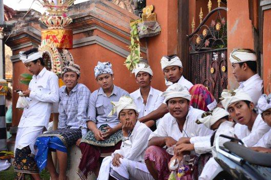 Kuningan Day, May 31, 2014 Nusa Lembongan
