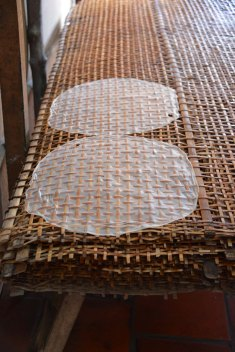 Rice paper pattern