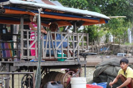 Residents of the Mekong Delta