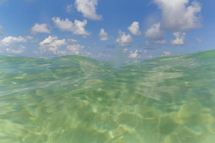 Clear water of Koh Rong Samloem