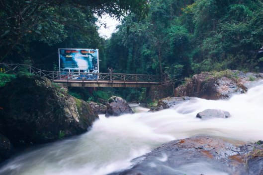 Autumn in Datanla Waterfalls, Vietnam