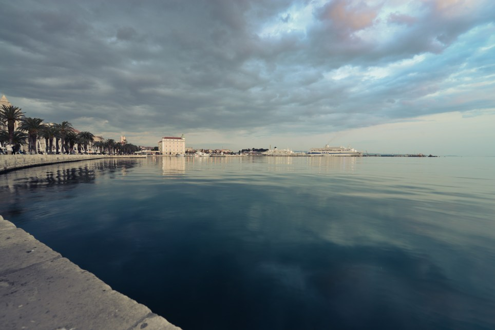 View of the Water from the Riva, Split Croatia
