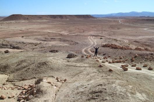 Hiking in AIt Ben Haddou