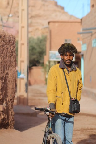 Local with his bike