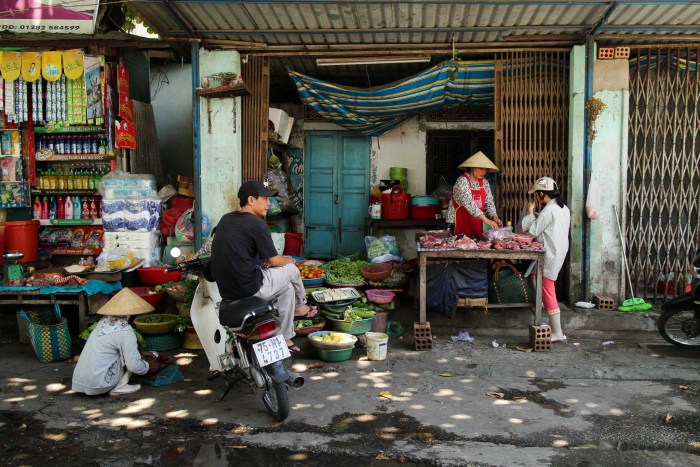 Morning Market in Hoi An