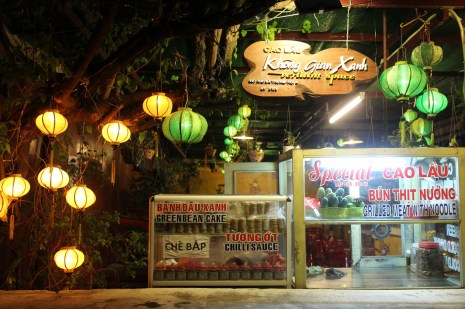 Delicious Cau Lao and Satay